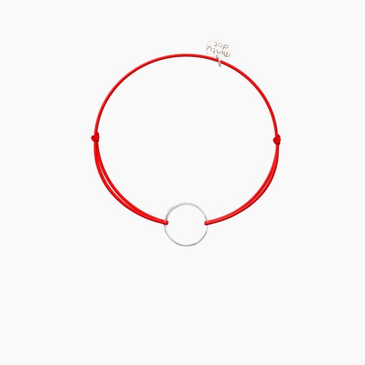 KARMA na czerwonym sznurku <3 Minty dot