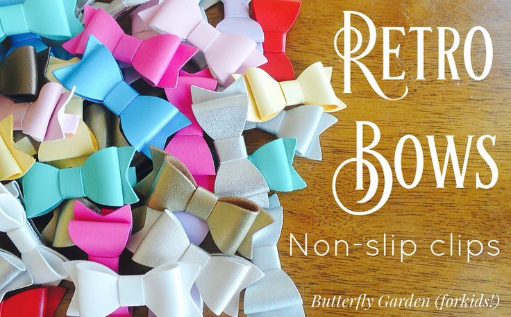Retro bow hair clips https://butterflygardenforkids.com.au/collections/clothing-to-love
