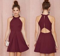 vestidos color vino - Buscar con Google
