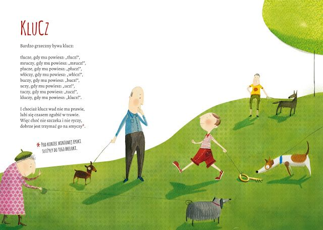 polska ilustracja dla dzieci: Nowość - Wierszyki domowe
