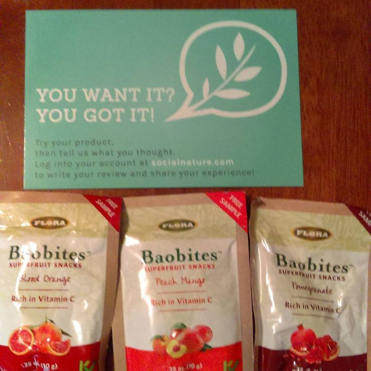 Just got some free samples of Baobites superfruit snacks they are delicious #gotitfree #trynatural