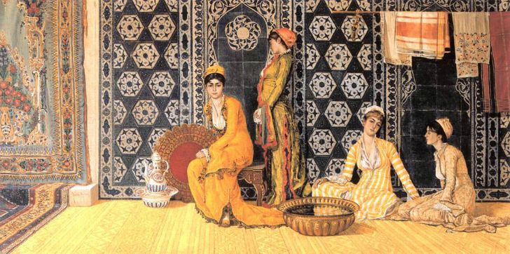 osman hamdi bey haremde