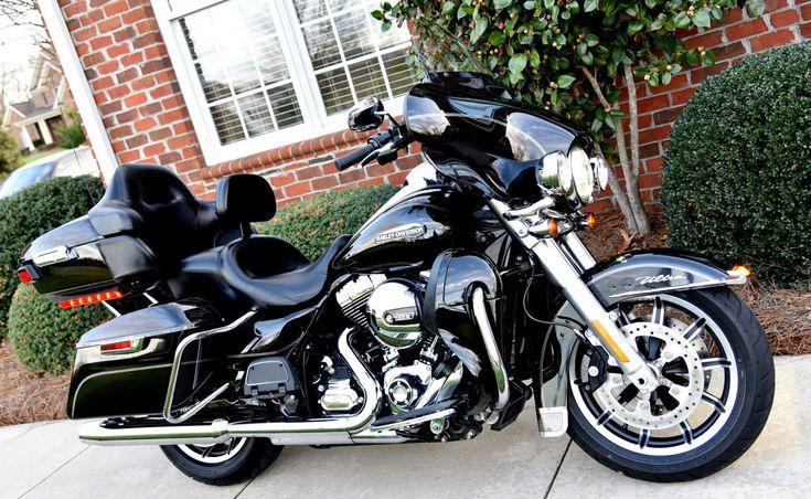 #harley 2016 Harley-Davidson Touring 2016 Harley Davidson Ultra Classic 1 Owner Factory Boom Audio GPS, 65 Photos please retweet