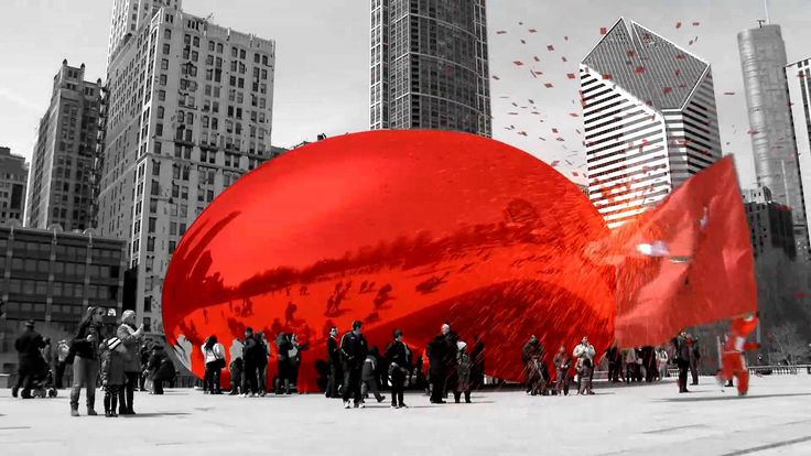 """BullsTV Presents: """"Chicago Basketball is All Red"""" To celebrate our """"See Red"""" Playoffs campaign Benny the Bull hit the town to show how #ChicagoBasketball is All Red."""