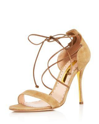 Rupert Sanderson Mitra Lace Up Sandals | Bloomingdale's