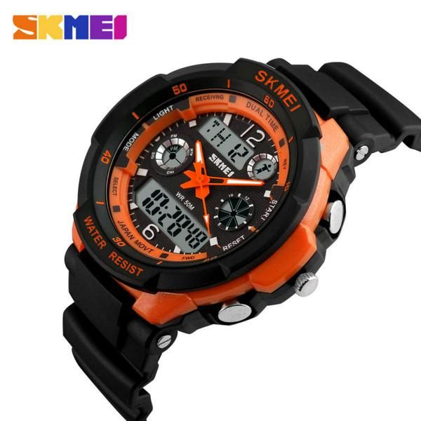 #BlackFriday is coming early #BestPrice #CyberMonday SKMEI Luxury Brand Sports Watches Shock Resistant Men LED Watch Military Digital…