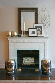 17 best Brick fireplace and mantle images on Pinterest | Fireplace ...