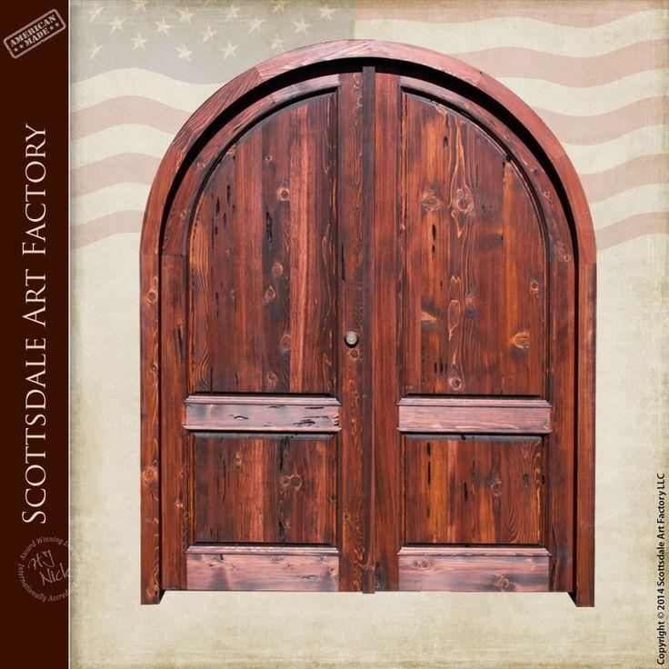 Double Doors With White Oak Handle Motif - DD3920 | Western Decor 2 | Pinterest | White oak Doors and Western decor & Double Doors With White Oak Handle Motif - DD3920 | Western Decor 2 ...