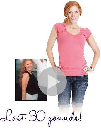 April lost 30 pounds Success Stories Pinterest