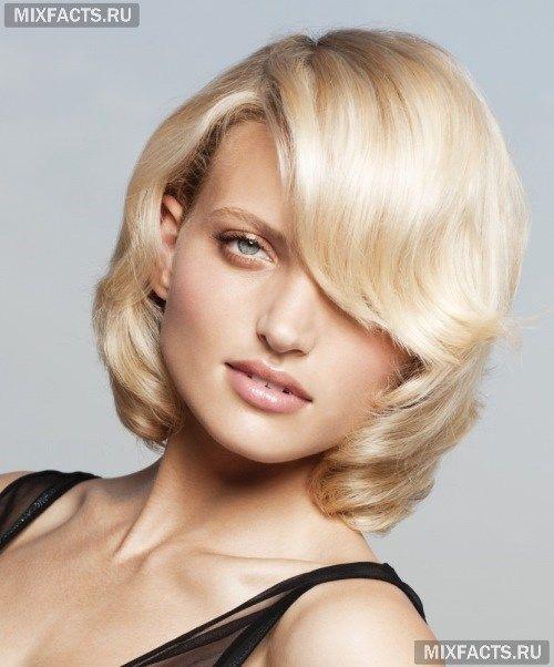 Стрижка волос для овального лица (фото)