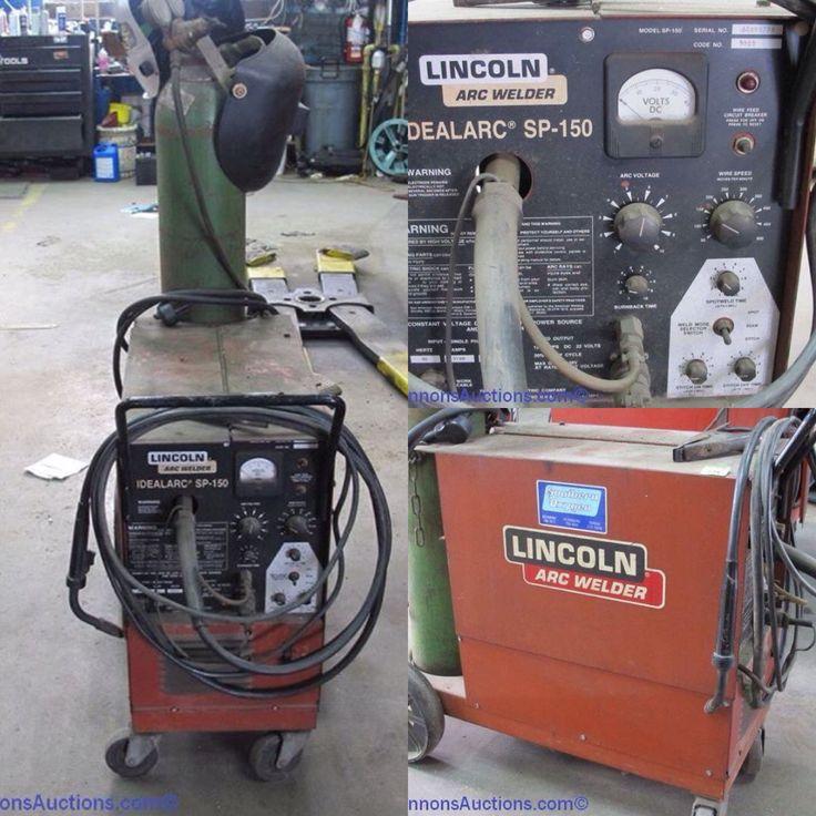 Lincoln arc welder. Bids close Wed, 25 Jan, from 11am ET. http://bid.cannonsauctions.com/cgi-bin/mnlist.cgi?redbird102/106