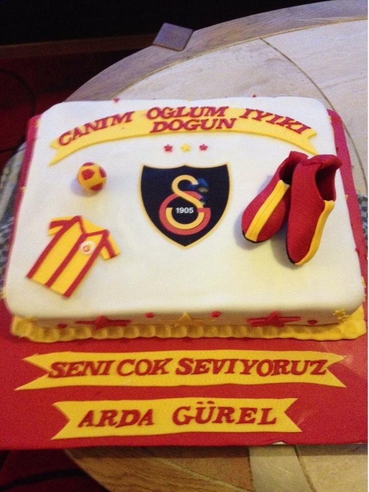 Football cake  Fodbolds kage fondant