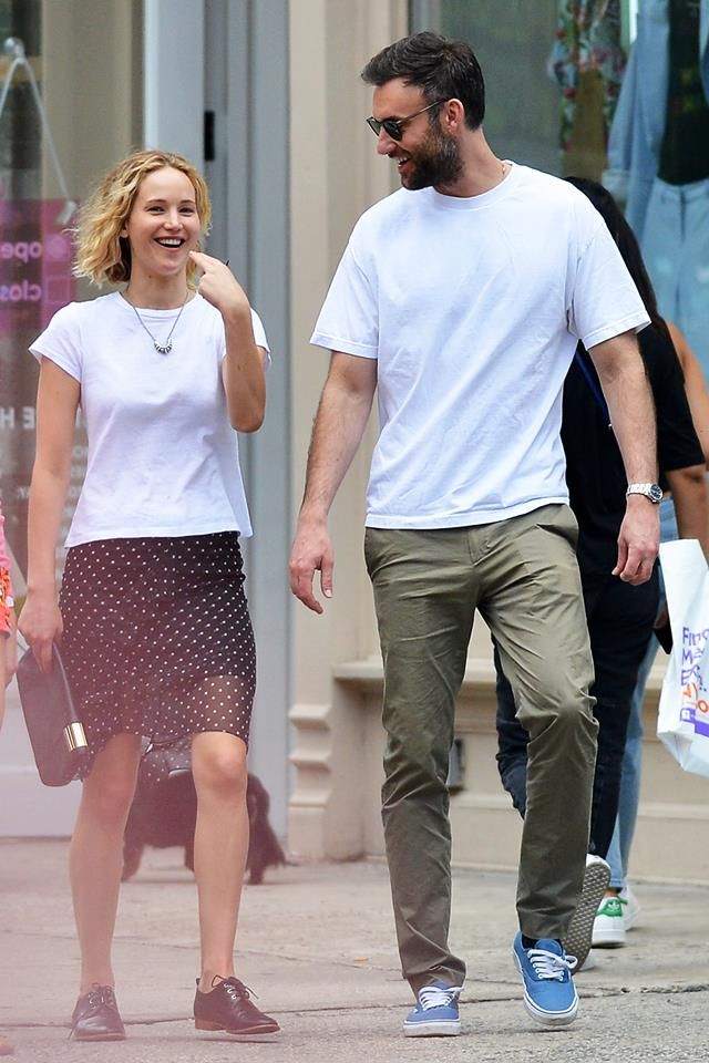 Jennifer was seen in New York with Cooke Maroney her new ...