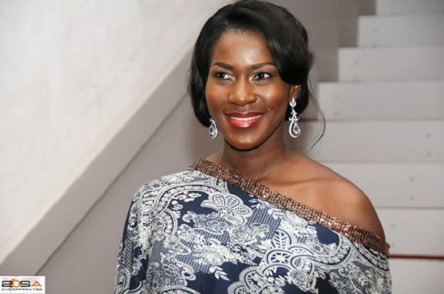 Nollywood actress, Stephanie Okereke's father is dead – See what killed him!