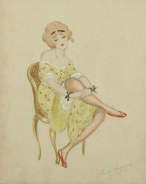 Artist Gerda Wegener - FindArtinfo