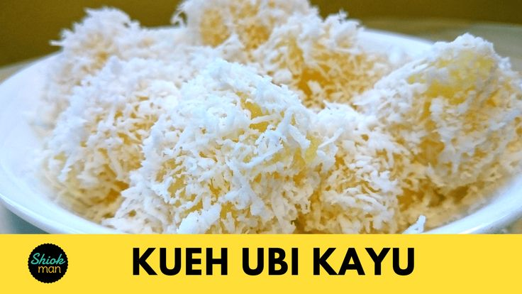 Kueh Ubi Kayu is also made from grated tapioca (cassava) just like Kueh Bingka, but it is steamed instead of baked. It is served with lightly salted steamed grated coconut. To make this delicious nyonya kueh, click on the video tutorial and print out the recipe below. Thank you Please click image below to view Video Tutorial: https://youtu.be/HWC4SUGB1vo Print KUEH UBI KAYU (STEAMED TAPIOCA CAKE) Course: Kueh Cuisine: Peranakan (Nyonya) Author: Shiokman Ingredients 1 kg grated ...