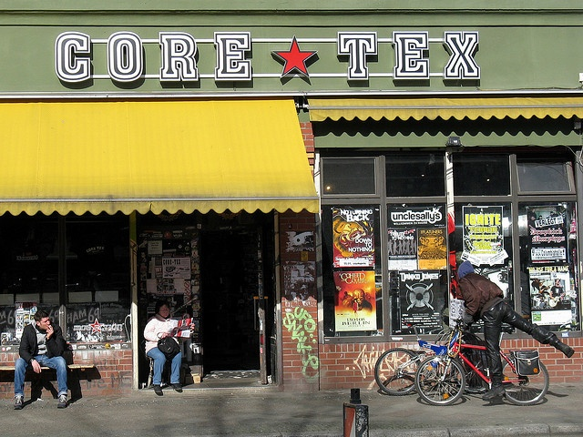 Great record store in Berlin named Core-Tex. It's all about punk and harcore here, pretty awesome.