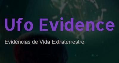 Ufo Evidence: Ufo Evidence agora também como Página do Facebook