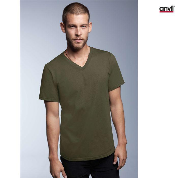 cool T-shirt Anvil V-Neck