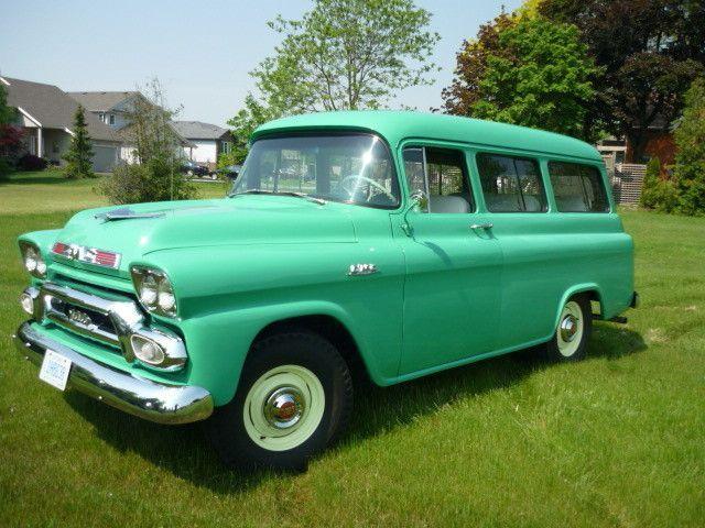 Chevy Dealers Houston >> 1959 GMC Suburban Carryall For Sale in Toronto, Ontario - Classics.VehicleNetwork.net | TRUCKS ...