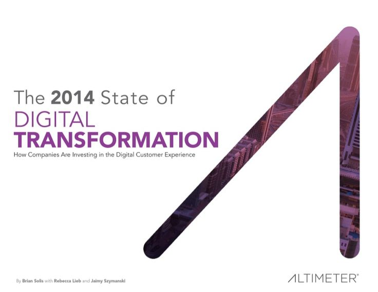 We are all learning what digital transformation means and there are no short cuts especially a year later
