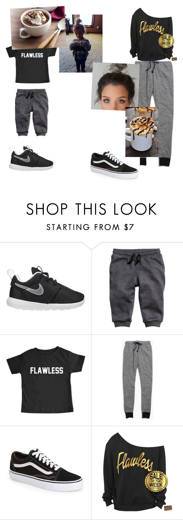 """""""Chill in' with the baby sis/ magcon story"""" by mendesmusicforever ❤ liked on Polyvore featuring NIKE, H&M, Madewell and Vans"""