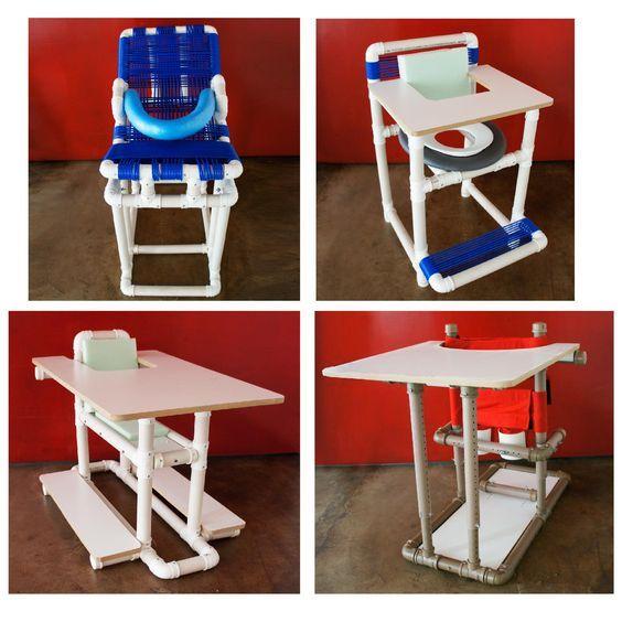 sillas con tubos de pvc - Buscar con Google Más