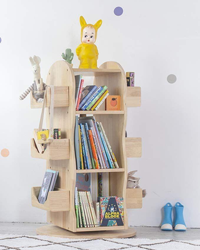 Mesasilla Kinder Bucherregal Regal Drehbar 100 Massivholz Natur Kinderzimmer Ideen W Bucherregal Kinder Bucherregal Aus Holz Bucherregal Kinderzimmer