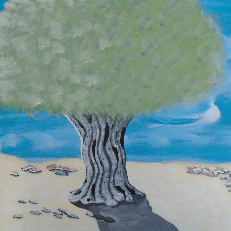 Οlive tree. Paintings on canvas by Art Online