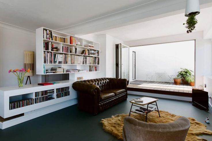 BINNENKIJKEN. Duffe flat wordt zonnig penthouse - De Standaard: http://www.standaard.be/cnt/dmf20150619_01738894