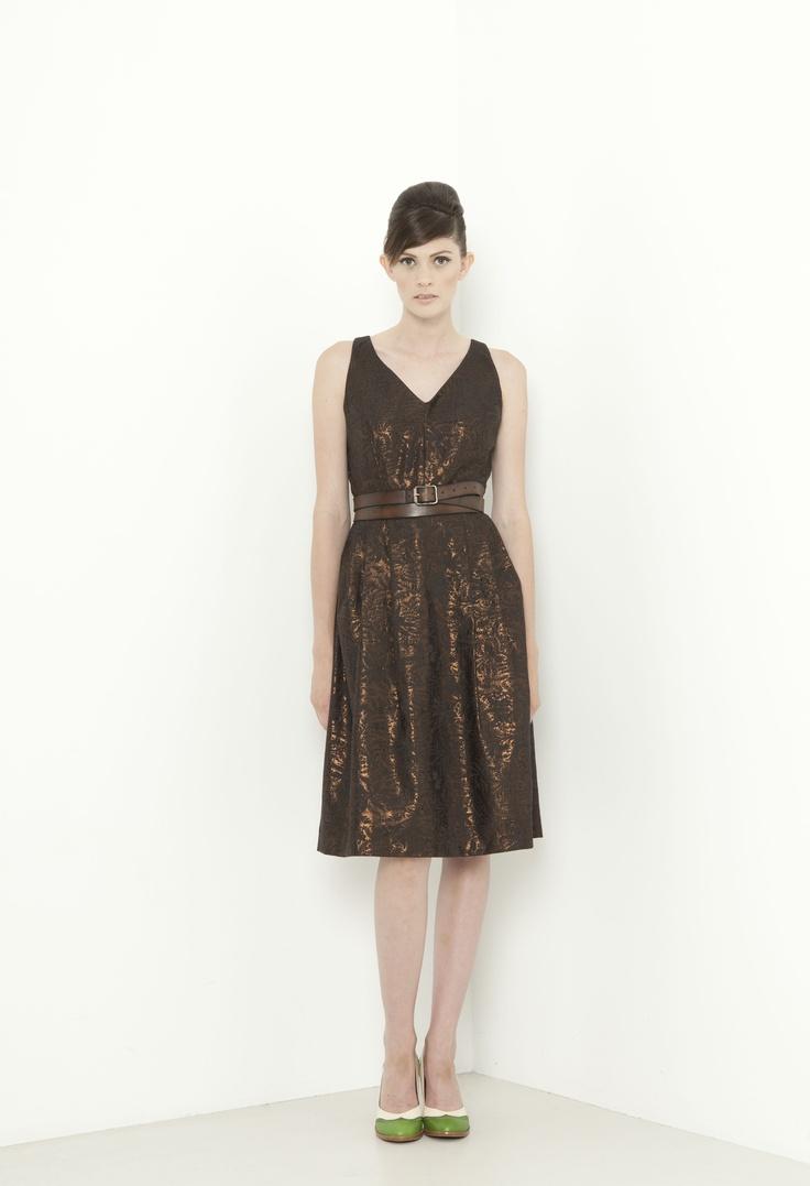 Windsor Dress - bronze