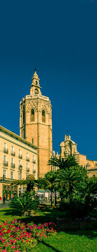 The Miguelete tower, Valencia, Spain