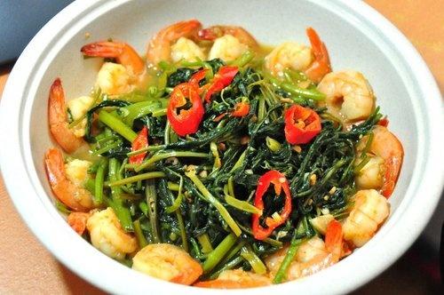 tumis kangkung#sayur#indonesia#seafood#cabai