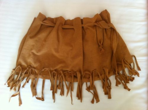 DIY Pocahontas Costume   DIY Pocahontas Costume for Under $5 Tutorial   BLOGILATES