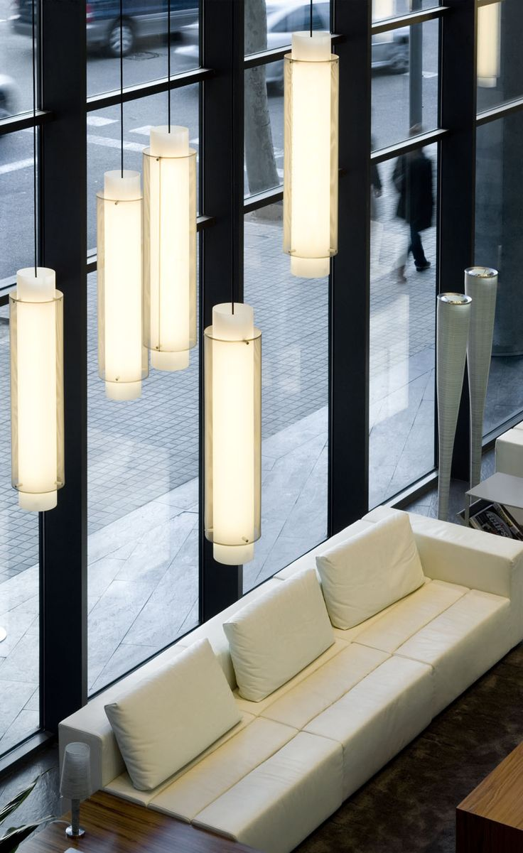 Skin #lamp by B.lux.Hotel AB Skipper, Barcelona. #lighting #project