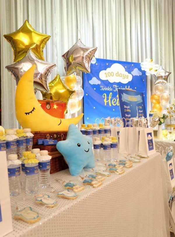 Twinkle Twinkle Little Star Golden Baby Shower Decorations, Twinkle Twinkle  Little Star Golden Baby Shower Ideas, Theme, Invitations, Free Games