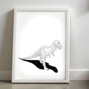 Image of T-Rex. By Laura Shallcrass.