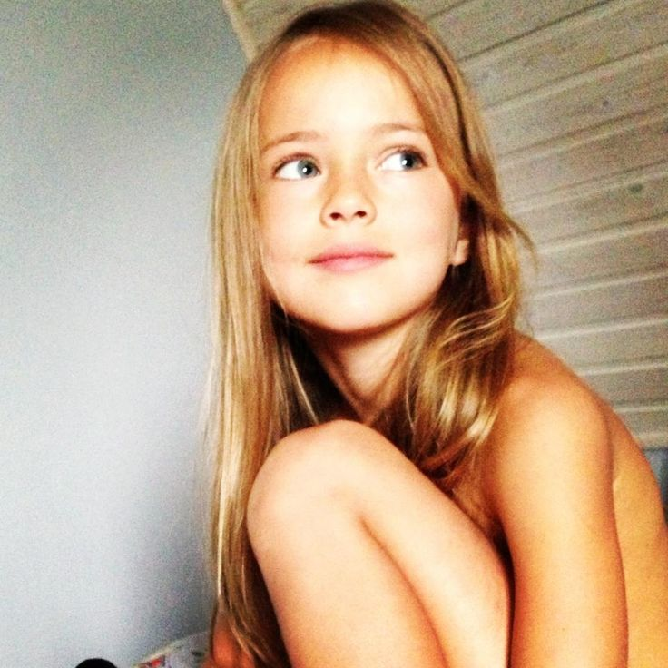 The little and incredibly beautiful years old Russian model Kristina Pimeno