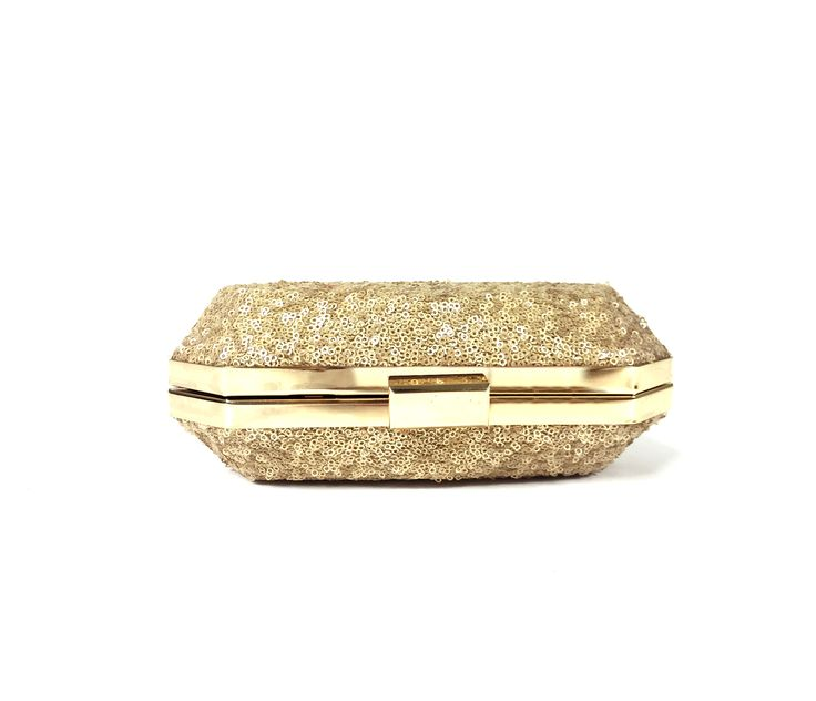 Sequined Covered Metal Box Clutch.. Perfect for Weddings, Viah, Nikah or Shaadi. Get your stylish Box Clutch today. High quality product. From California with Love. Ship time 1-3days :-)
