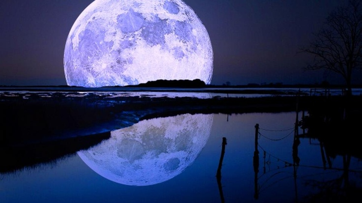 Gone moonbathing...supermoon.: Moon Reflection, Moon, Beautiful Moon, Fullmoon, Full Moon, Blue Moon, Moon Rivers, Photo, Moon Pictures