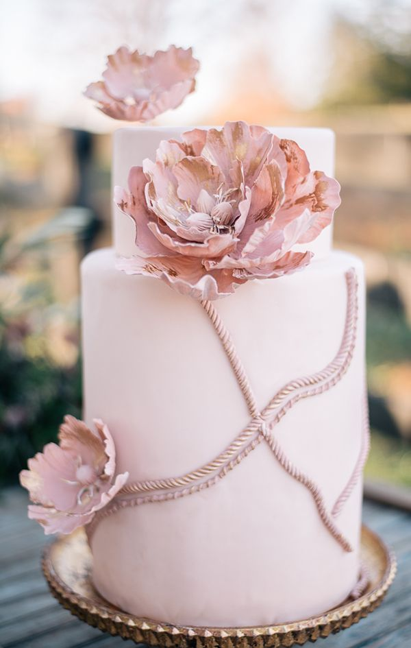 Romantic Victorian Wedding Inspiration in Shades of Pink