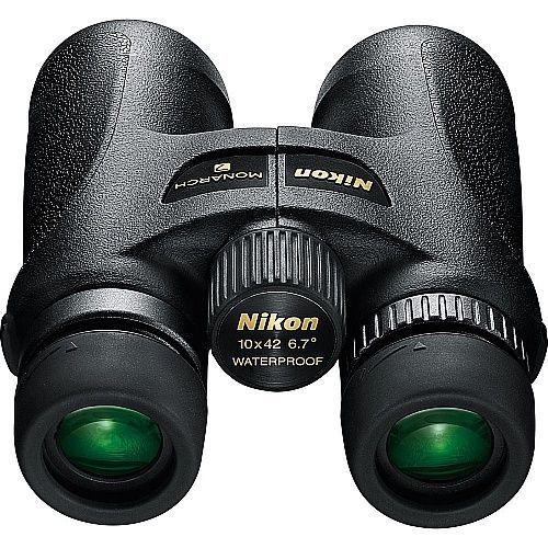 Black Nikon Monarch 7 10X42 Binoculars Roof Prism Design #Nikon