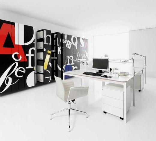 Fotos de Decoración de Oficinas Modernas - Para Más Información Ingresa en: http://interioresdecasasmodernas.com/fotos-de-decoracion-de-oficinas-modernas/