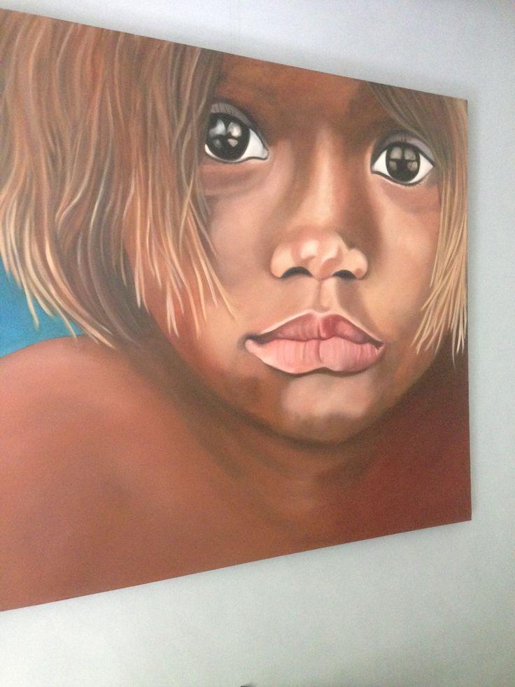 Oil painting by Sonja Middelman Zijlstra