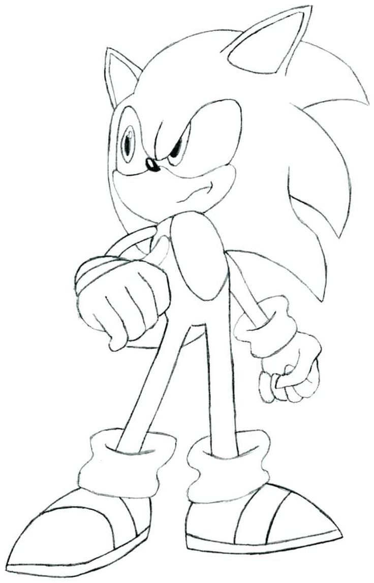 Pin on sonic coloring book