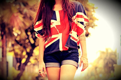 Fashion Outfit, Female Fashion, The Queens, Crop Tops, Unionjack, Captain Jack Harkness, Cute Outfit, One Direction Pictures, Union Jack