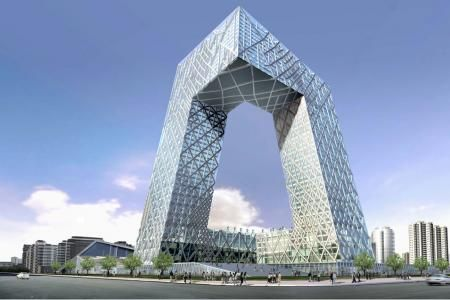 Rem koolhaas architecte hollandais une de ses for Architecture chinoise