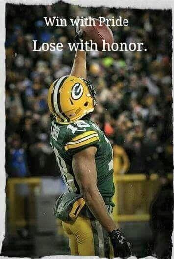 Pride. Green Bay Packers