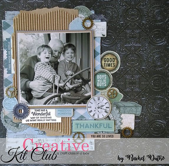 Barber Shoppe Collection  http://www.uniquelycreative.com.au/past-creative-kits