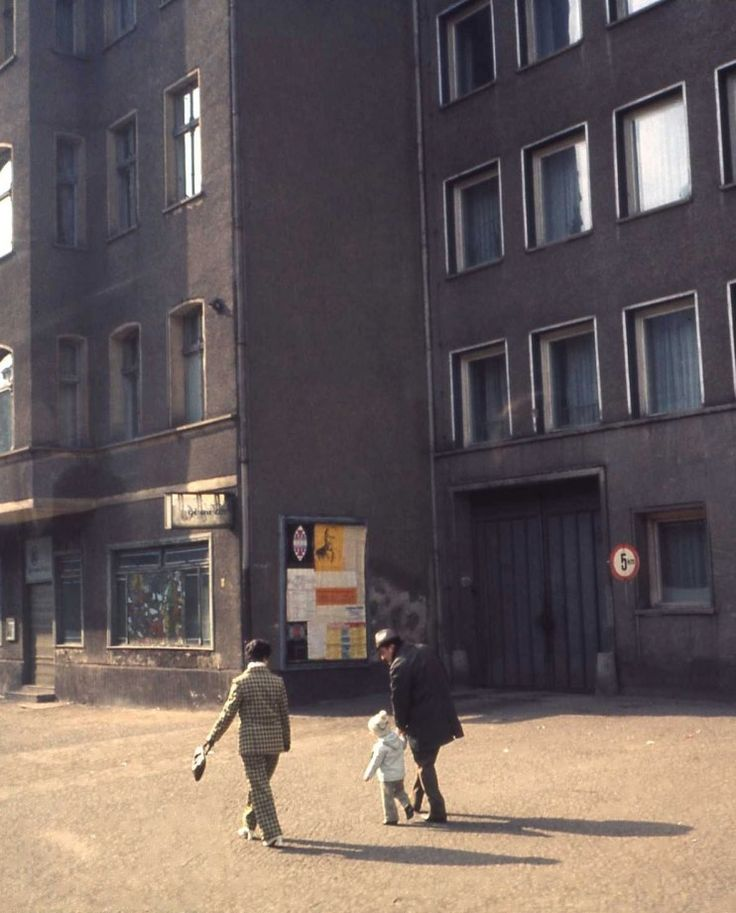 Typical family life in East Berlin in 1971